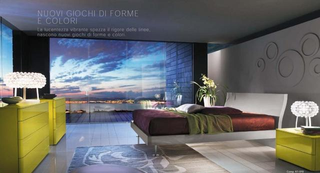 Modern olasz hálószoba bútorok