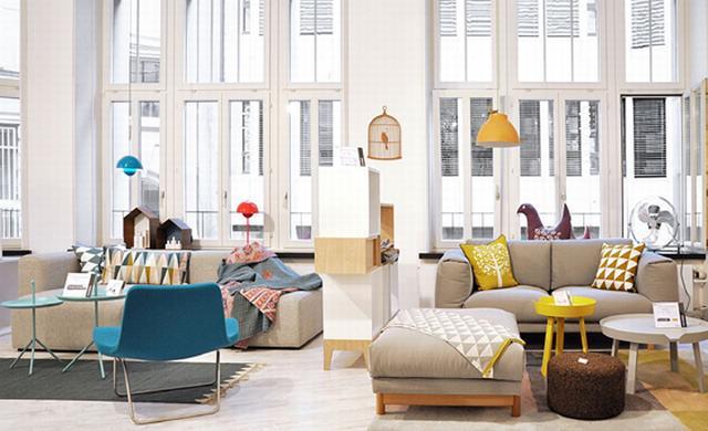 Ferm Living dán lakásdekoráció