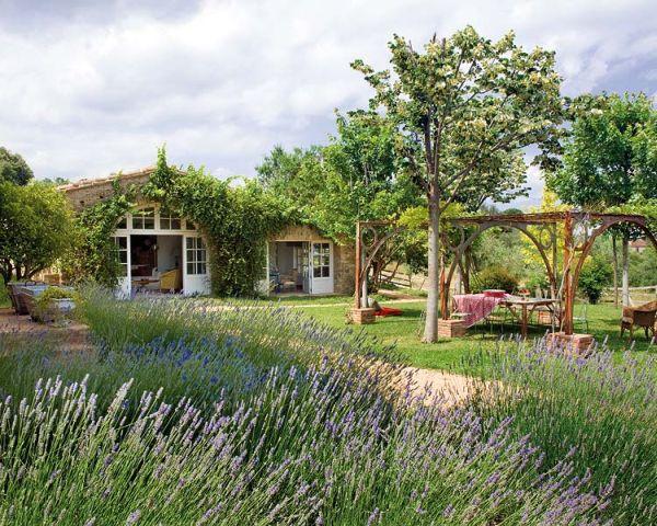Mediterrán francia kert