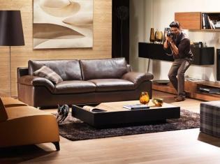 Natuzzi Bateau - Férfias és modern kanapé