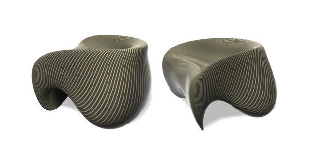C-Stool szék koncepció Dima Loginoff
