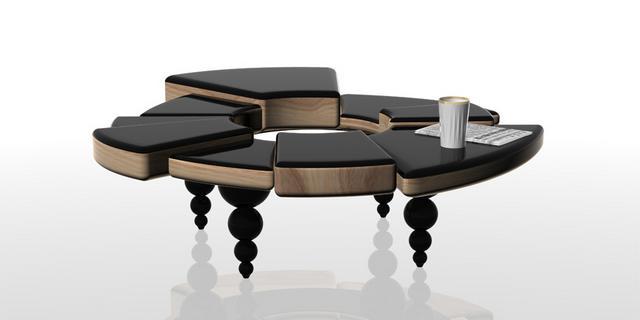 Chaos kávézóasztal Dima Loginoff