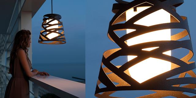 Tornado outdoor lámpa/ Studio Italia design Dima Loginoff