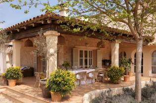Mediterrán ház Mallorcán - mintha a szabadban élnél