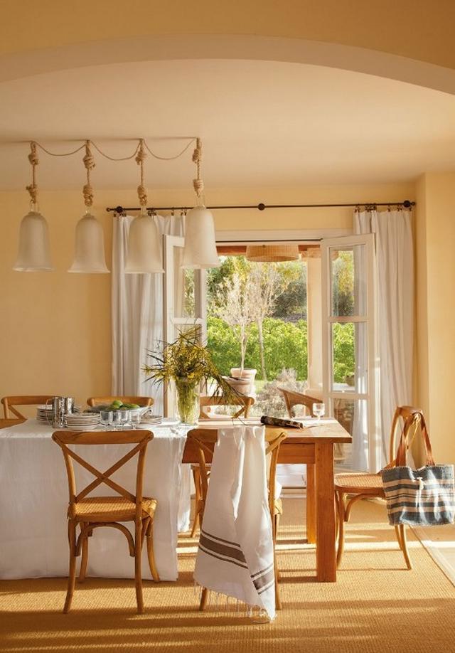 Mediterrán ház Mallorcán - Étkező berendezés