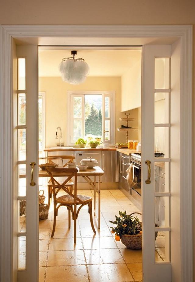 Mediterrán ház Mallorcán - Rusztikus konyhai járólap