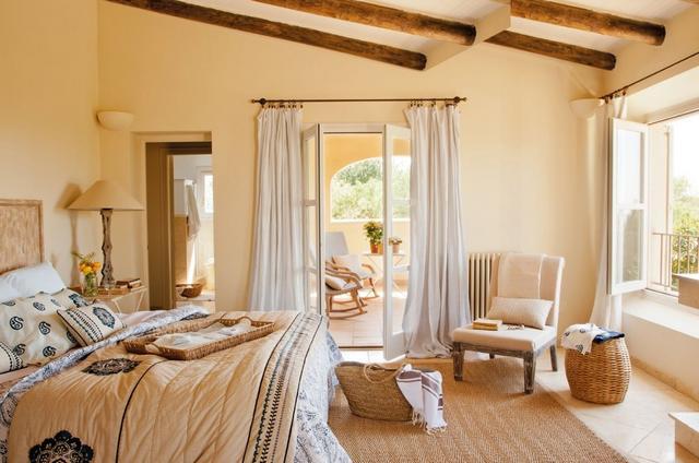 Mediterrán hálószoba