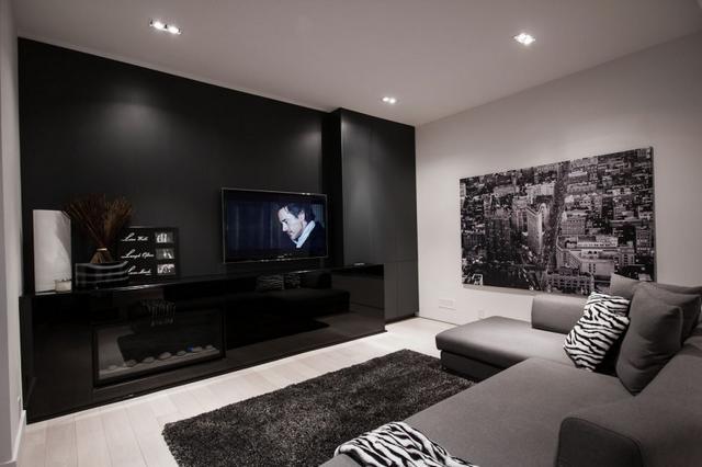 9.1THX Digital Surround Sound Házimozi szoba professzionális hangrendszerrel