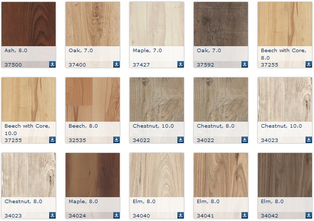 Kaindl laminált padló, faparketta és burkolattervező program