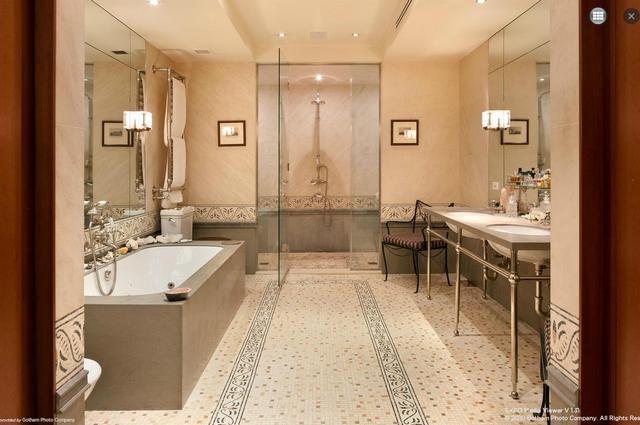 Romantikus fürdőszoba mozaik márványpadló
