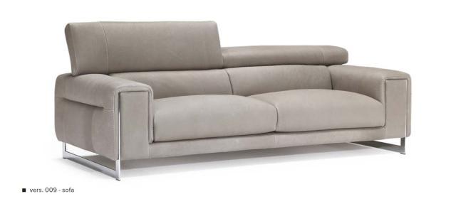 Natuzzi Etoile bőr kanapé kétszemélyes