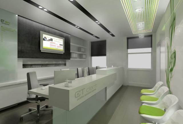 CT Dent London belsőépítészet és dekoráció recepció