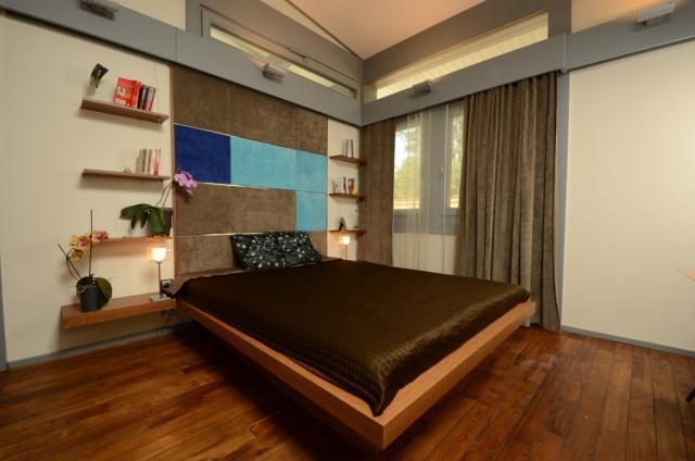 LAKBERENDEZÉS - OTTHON - DESIGN blog: Modern kertes ház megújult belső terekkel