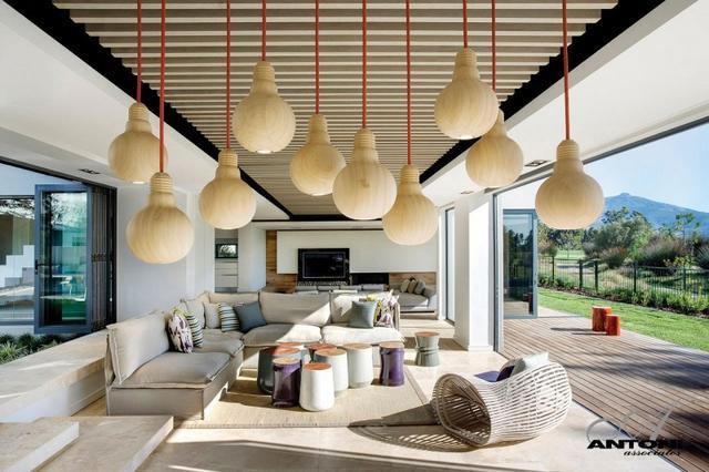 Fa mintázatú lámpabúrák
