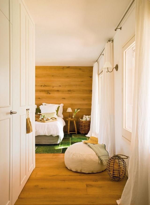 Hálószoba beépített szekrényekkel