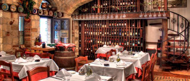 Tömény romantika olasz stílusú étterem