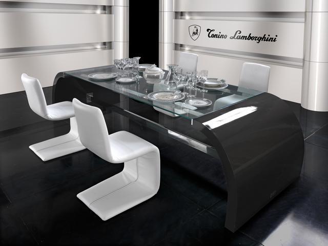 Tonino Lamborghini modern exkluzív étkező