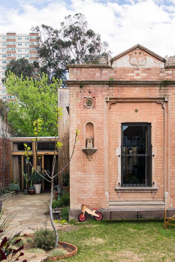 Viktoriánus ház Melbourne