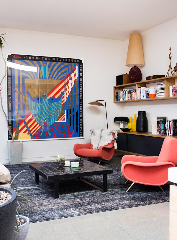 Design tárgyak és festmények