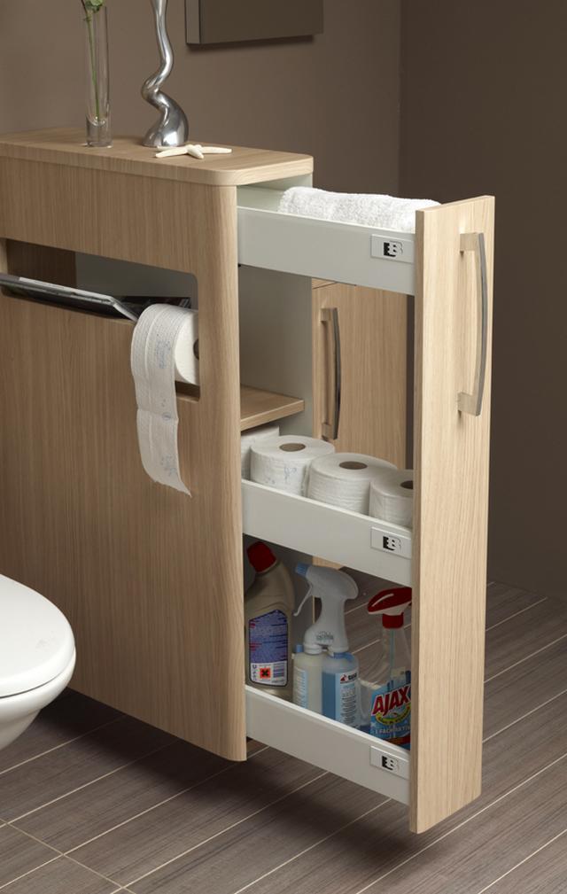 LAKBERENDEZÉS - OTTHON - DESIGN blog: Praktikus fürdőszoba bútor megoldás