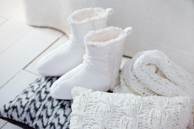 Lakástextil ajándék ötletek mamusz