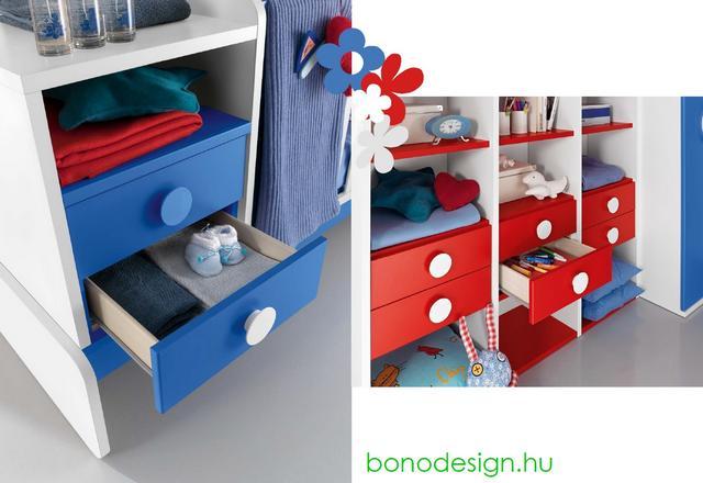 Bono Design olasz variálható bababútor