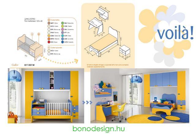 Bono Design bababútor méretek