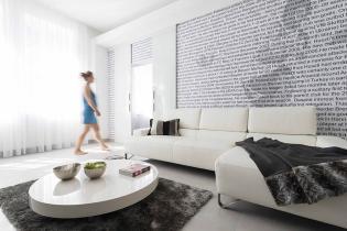 Polgári lakás falai közt elegáns urbánus minimál
