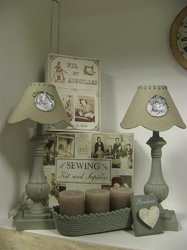 Vidéki stílusú lámpa