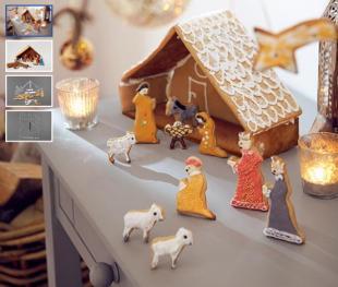 Betlehemes játék süteménykiszúró formák
