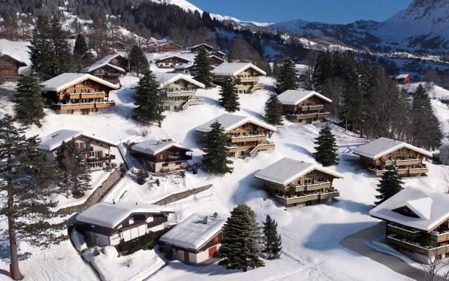 Svájci alpesi faház