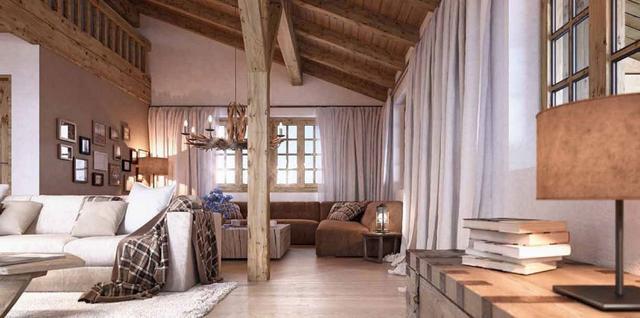 Romantikus nappali natúr sötétítőfüggöny