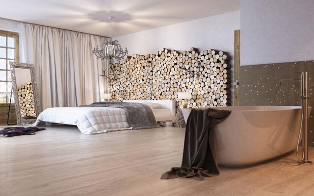 Farönk dekoráció hálószobában