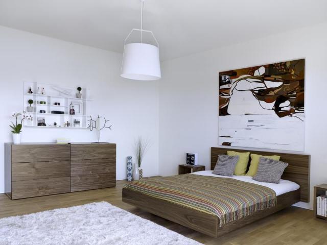 Tema Home IDdesign tölgyfa színű franciaágy