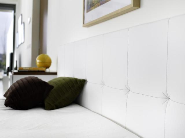 Tema Home IDdesign fehér franciaágy fejvég