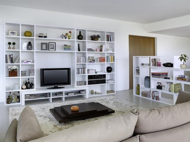 Tema Home IDdesign magasfényű könyvespolc