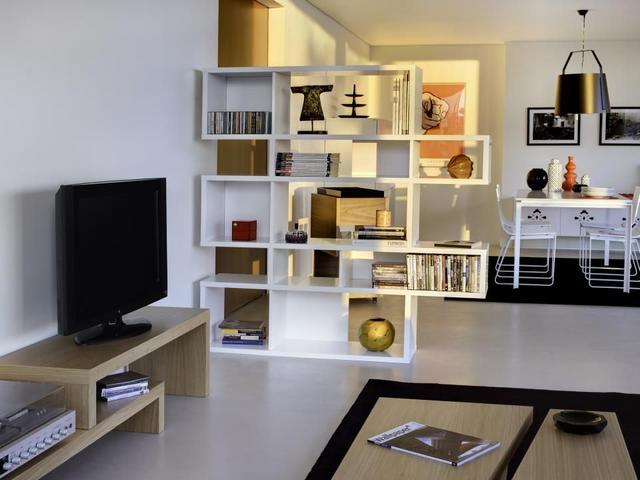 Tema Home IDdesign magasfényű könyvszekrény