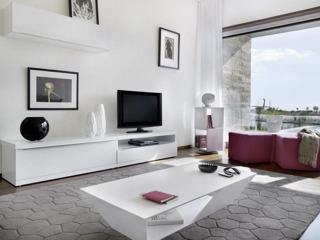 Tema Home IDdesign fehér tv szekrény