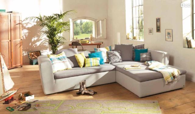 Tom Tailor nappali bútor színes kanapé