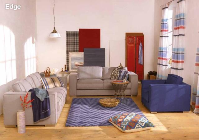 tom tailor casual home nappali b tor csak laz n. Black Bedroom Furniture Sets. Home Design Ideas