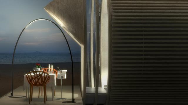 Kültéri design világítás