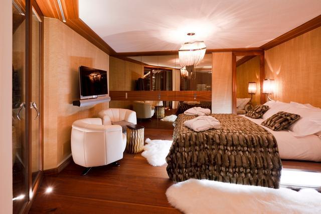 Luxus háló fehér bőr fotel