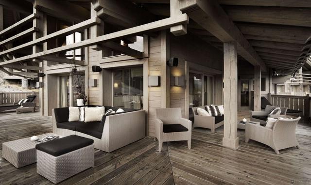 Luxus faház közös társalgó