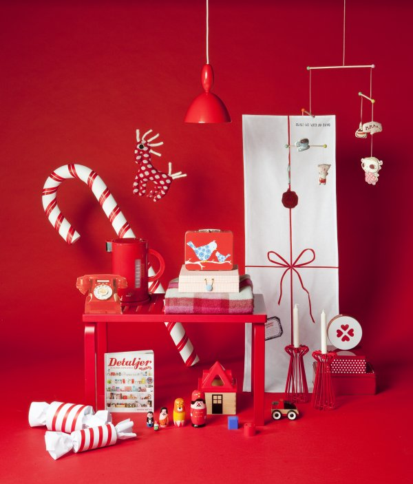 Karácsonyi enteriőr stylist design