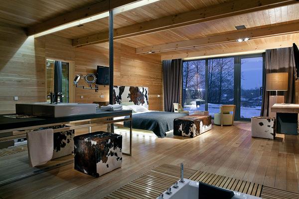 Egyedi fürdőszoba és hálószoba kapcsolat