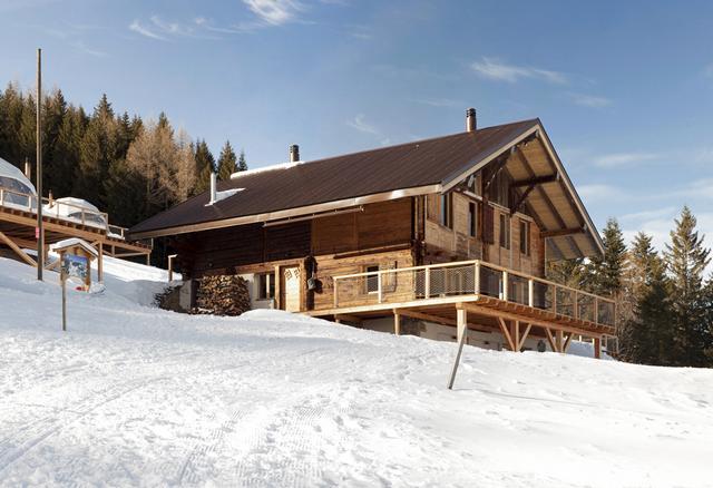 Svájci alpesi faház az 1800-as évekből