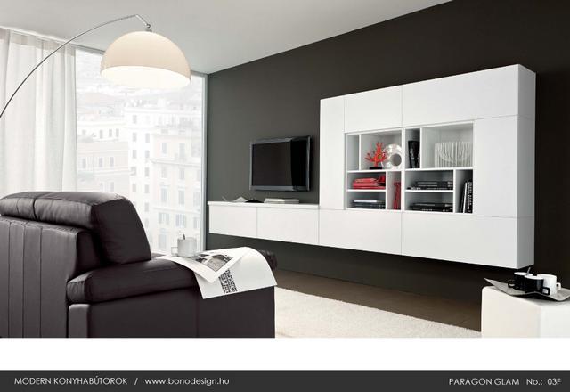 Colombini Paragon Glam olasz konyhabútor kiegésztő nappali bútorok