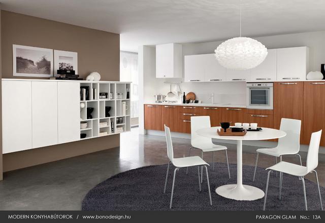 Paragon Glam nappali és konyhabútor egy színben