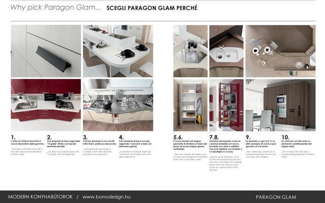 Colombini Paragon Glam olasz konyhabútor újdonságok