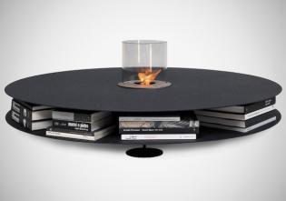 Zerino kávézó asztal mini bioethanol égővel